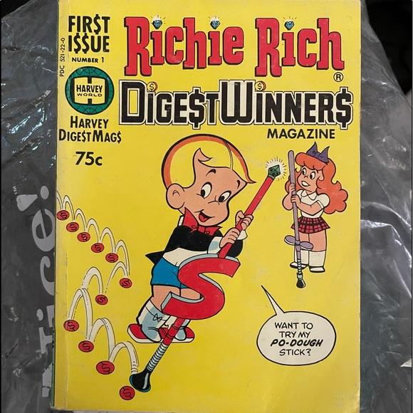 COLLECTOR ADDISON RICHIE RICH FIR$T I$$UE #1 12/97